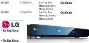 LG BD690