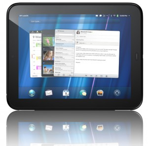 HP TouchPad Tablet1 300x295 [Concours] Une HP Touchpad 32 Go à gagner