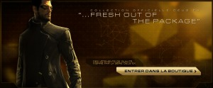 Boutique Deus Ex Human Revolution