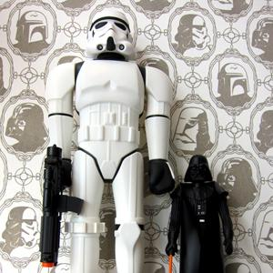 un papier peint star wars geekattitude. Black Bedroom Furniture Sets. Home Design Ideas