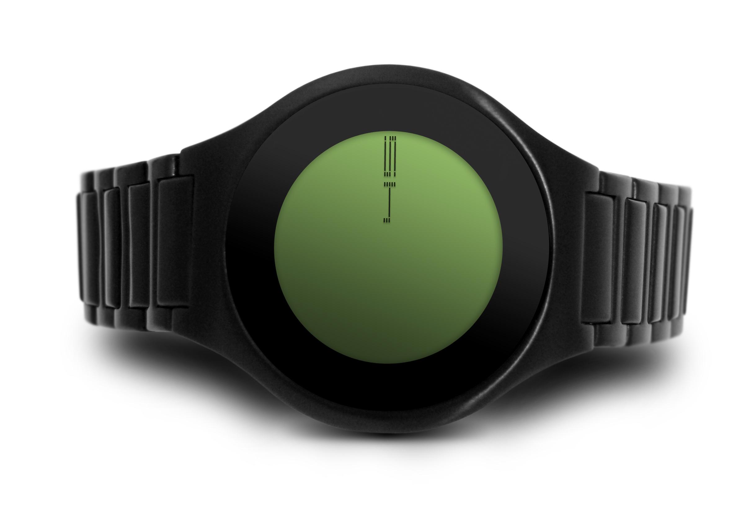 kisai on air par tokyoflash une montre l 39 heure du futur geekattitude. Black Bedroom Furniture Sets. Home Design Ideas