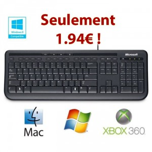 microsoft-clavier-wired-keyboard-600-noir