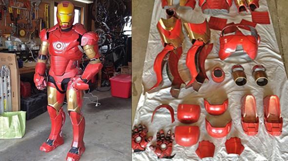 vrai armure iron man