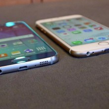 Galaxy S6 iPhone 6