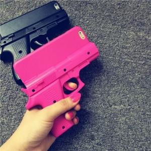 Coque iPhone pistolet